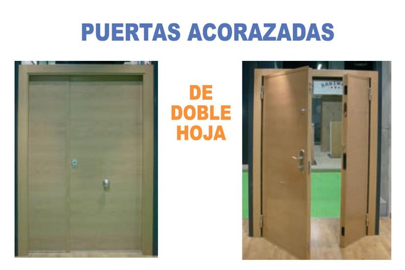 Carpinter a la art stica puertas acorazadas for Puertas acorazadas